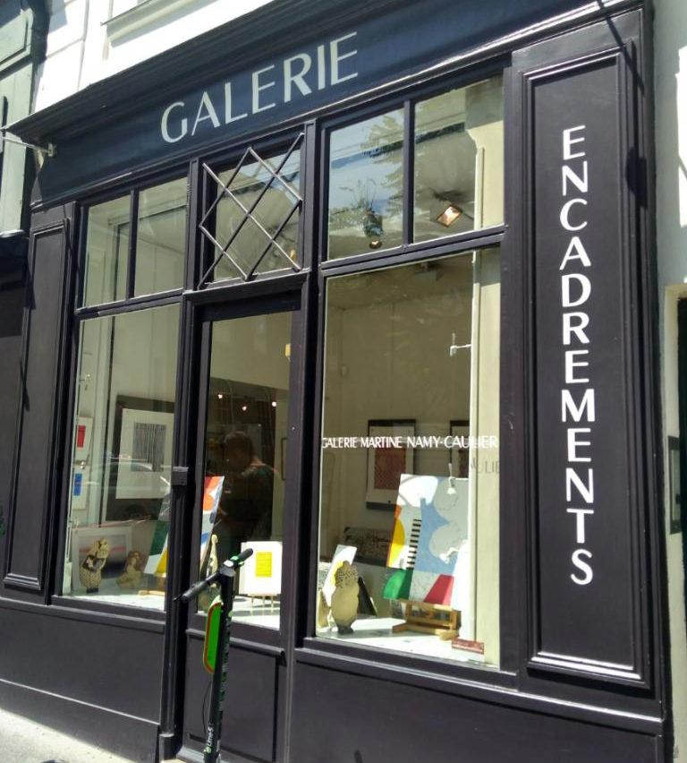 galerie Martine Nami Caulier